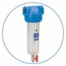 """Filtrační pouzdro pro studenou vodu s výpustným ventilem 10"""" H10G"""