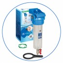 """SET - Filtrační pouzdro pro studenou vodu s výpustným ventilem 10"""" H10G"""